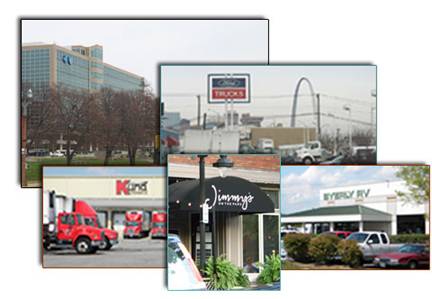 Photo grouping of business clients, providers, and office